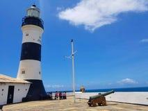 Farol da Barra, Salvador, Bahia fotografia stock