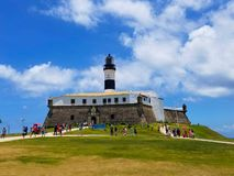 Farol da Barra, Salvador, Bahia obraz royalty free
