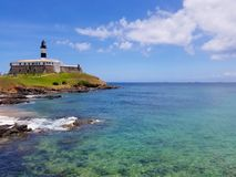 Farol da Barra, Salvador, Bahia royalty free stock photography