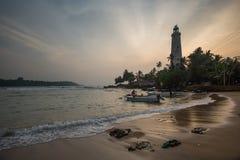 Farol da cabeça de Dondra, Sri Lanka imagens de stock royalty free