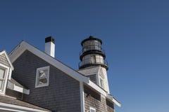 Farol das montanhas em Cape Cod, Massachusetts Imagens de Stock
