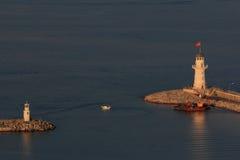 Farol de Alanya Turquia Fotografia de Stock