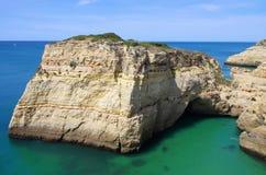 Farol de Alfanzina coast Stock Images
