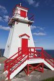 Farol de Amherst do forte no ` s de St John Fotos de Stock