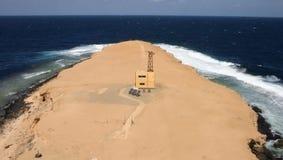 Farol de Big Brother, irmão Islands, Mar Vermelho, Egito Imagens de Stock