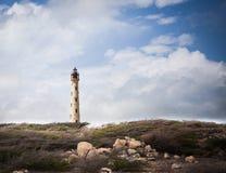Farol de Califórnia em Aruba Fotografia de Stock
