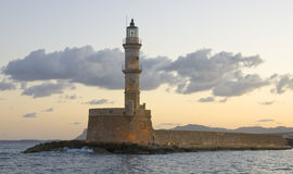 Farol de Chania Fotografia de Stock Royalty Free