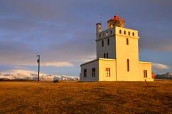 Farol de Dyrhlaey, Islândia Imagem de Stock Royalty Free