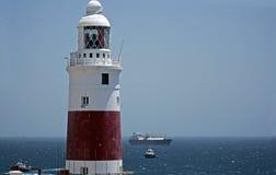Farol de Gibraltar Fotografia de Stock