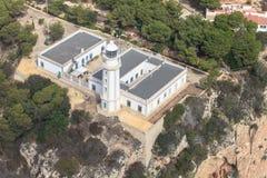 Farol de la Nau em Javea, Alicante, Espanha Imagem de Stock Royalty Free
