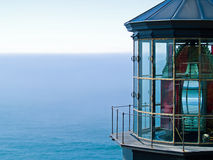 Farol de Meares do cabo na costa de Oregon Imagem de Stock Royalty Free
