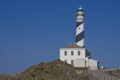 Farol de Menorca Imagem de Stock Royalty Free