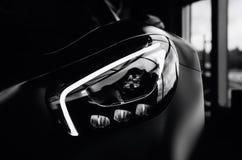 Farol de Mercedes Benz AMG GT 50 Imagem de Stock