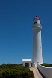 Farol de Nelson do cabo com céu azul Imagem de Stock Royalty Free