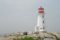 Farol de Nova Escócia Fotos de Stock Royalty Free