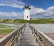 Farol de Nova Inglaterra Imagem de Stock