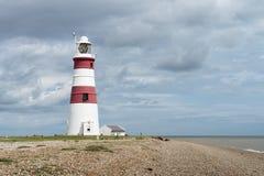 Farol de Orfordness, Ness de Orford, Suffolk, Reino Unido Fotografia de Stock Royalty Free