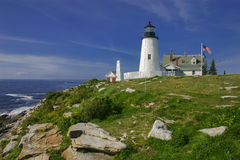 Farol de Pemaquid, Maine, EUA Imagens de Stock Royalty Free