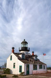 Farol de Pinos do ponto da baía de Monterey Fotografia de Stock Royalty Free