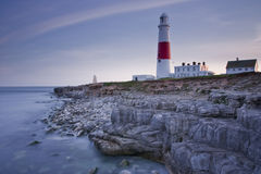 Farol de Portland Bill Fotos de Stock Royalty Free