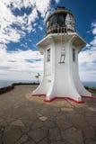 Farol de Reinga do cabo, Northland, Nova Zelândia Fotografia de Stock