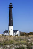 Farol de Sõrve em Saaremaa em Estônia Imagem de Stock Royalty Free