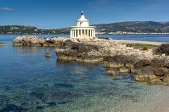 Farol de St Theodore em Argostoli, Kefalonia, ilhas Ionian, Grécia Imagem de Stock