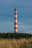 Farol de Storojensky no lago Ladojskoe Imagens de Stock