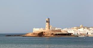 Farol de Sur, Omã Foto de Stock