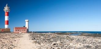 Farol de Toston, Fuerteventura Fotografia de Stock Royalty Free