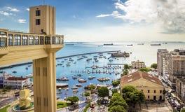 Farol a Dinamarca Barra em Salvador Foto de Stock Royalty Free