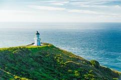 Farol do cabo Reinga, Nova Zelândia imagem de stock royalty free
