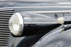Farol do carro retro Fotos de Stock Royalty Free