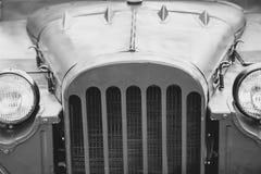 Farol do carro velho imagens de stock