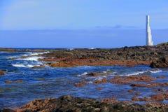 Farol do fidalgo de Punta Fotografia de Stock Royalty Free