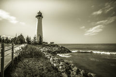 Farol do Lago Superior Foto de Stock Royalty Free