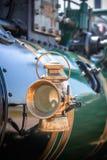 Farol do motor de vapor fotografia de stock