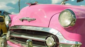 Farol do oldtimer Havana, Cuba Foto de Stock Royalty Free