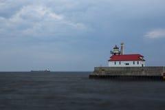 Farol do porto de Duluth Fotos de Stock
