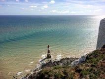 Farol eastbourne fotografia de stock