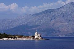 Farol em Croatia Imagens de Stock Royalty Free
