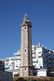Farol em Estepona, Spain Foto de Stock