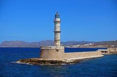 Farol em Greece Fotos de Stock
