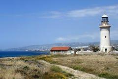 Farol em Paphos Fotos de Stock