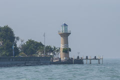 Farol em Pattaya Fotografia de Stock