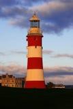Farol em Plymouth, Reino Unido Fotografia de Stock