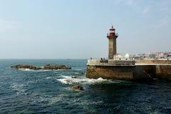 Farol em Porto Fotos de Stock
