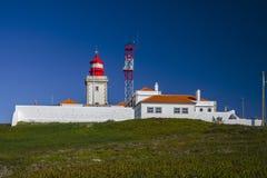 Farol faz Cabo a Dinamarca Roca Imagens de Stock Royalty Free