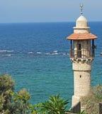 Farol histórico de Jaffa Imagens de Stock