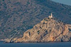 Farol Kos Grécia Foto de Stock